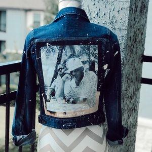 Brooklyn's finest denim jacket